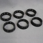 "LaVanture Products 6  Pack 1.5"" Snap In Plastic Bushing"