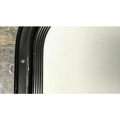 "Lippert Components 24"" x 42.5"" Baggage Door White w/ Black Trim"