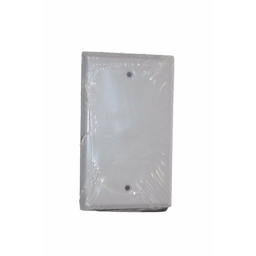 BWF All Weather Single Gang Blank Switch Plate Cover