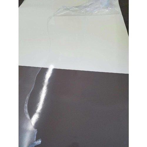 Lamilux 7' x 8' Ivory / Brown Fade Filon Fiberglass Siding