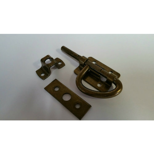 AP Products Dark Brass Barrel Latch