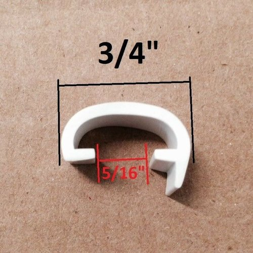 Phillip Matthews Co Screw Cover for Retainer 200 Feet Glossy White