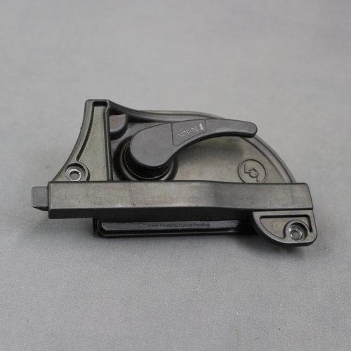 Lippert Components Black Plastic Screen Door Latch Handle