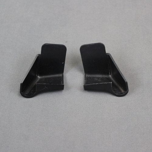 Unbranded 2 Pack Black Gutter Spouts