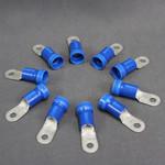 Molex 10 Pack 6 AWG Solderless Ring Terminal Crimps