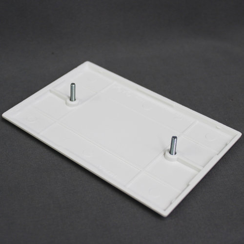 Cooper Wiring White Oversize Blank Wall Plate