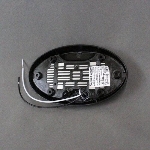 Dream Lighting Black 12V LED Pancake Light w/o Switch