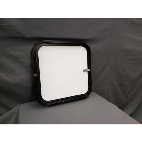 "Unbranded 16"" x 16"" Baggage/Cargo Compartment Access Door Black  w/ Black Trim"