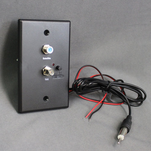 Unbranded RV TV / Satellite Wall Plate Power Supply