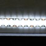 """18"""" Bright White LED Adhesive Tape Light"""