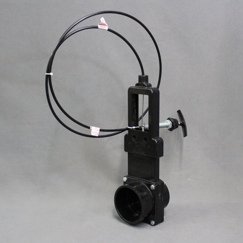 """3"""" Waste Valve with 72"""" Flexible Cable"""