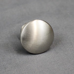 Global Link Brushed Satin Nickel Cabinet Drawer Knob
