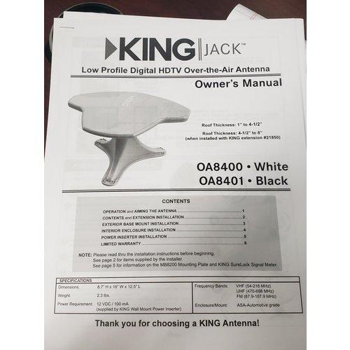 King Antenna Directional King Jack HDTV