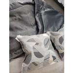 Ascot Enterprises Queen Comforter w/ Throw Pillow & Shams Hamlin Truffle