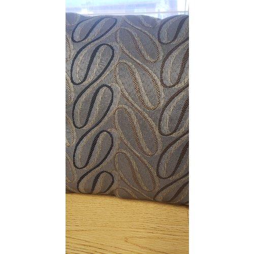 Ascot Enterprises Queen Comforter w/ Throw Pillow & Shams Capp/Mocha