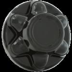 Phoenix Products Wheel Hub Cover 6 Lug Black