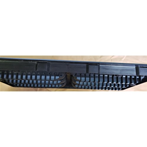 "Dometic Refrigerator Vent Assembly 20"" Black Dometic"