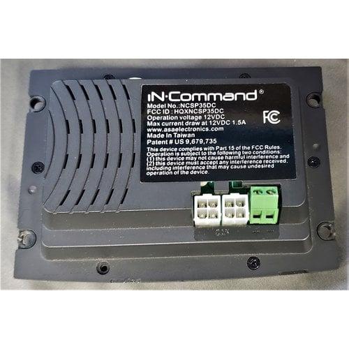 ASA Electronics In Command 12v Monitor Panel