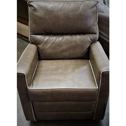 Lippert Components Upholstered RV Swivel Rocker Recliner Chair