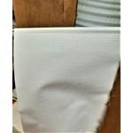 Dometic Slide Topper Fabric Bulk White per LF