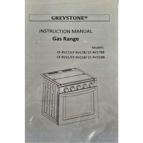 "Furrion Range Greystone 17"""