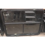 Various Window 48 x 35 Black Frameless Torque