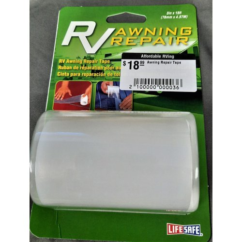 Top Tape and Label Awning Repair Tape