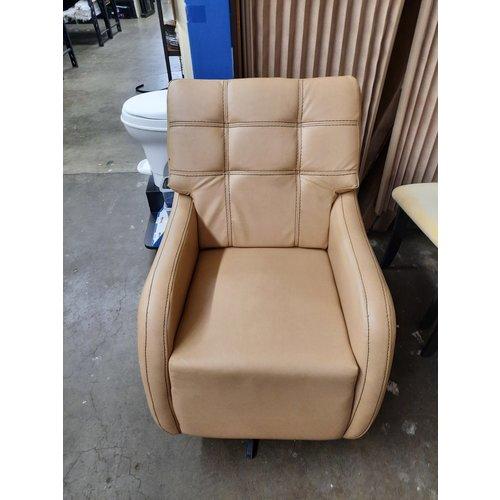 Lippert Components Upholstered RV Swivel Rocker Chair