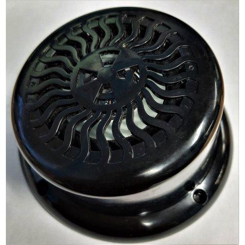 "5-1/4"" Marine Speaker Black w/LED"