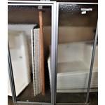 Shower Door 2 Panel Aluminum