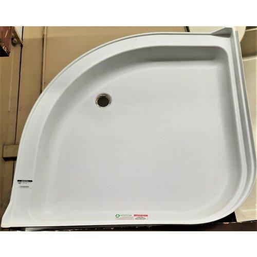 Shower Pan Corner Radius 36 x 36 White