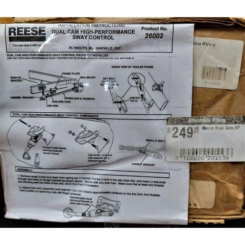 Reese Dual Cam HP