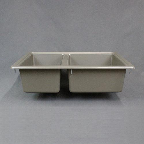 Sink Double Basin 25 x 17 Grey