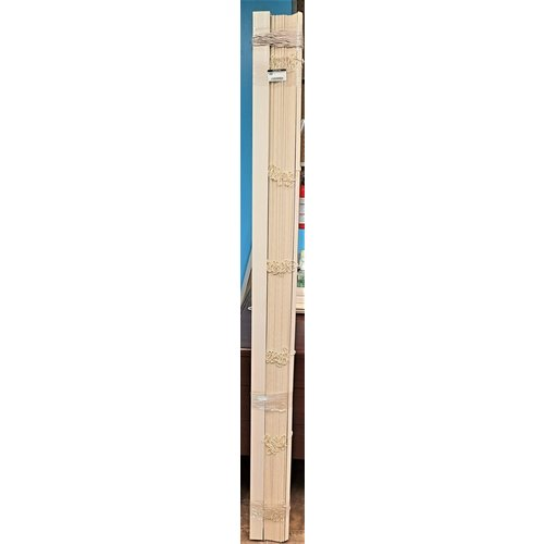"2"" Faux Wood Blinds 72 x 49"
