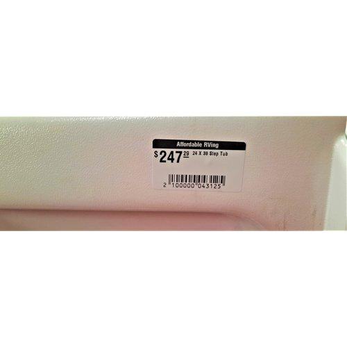 24 X 38 Step Tub