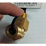 Unbranded Brass 3/8 FPT x 1/4 MPT, 3/8 MPT Reducer