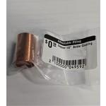 """Unbranded Copper 1/2""""  Solder Coupling"""