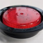 """Side Marker Light Red 2 1/2"""" Peterson"""