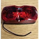 Optronics Inc. Clearance Light Red Lens Optronics MC-42RB