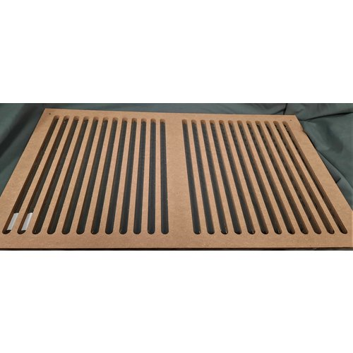 """Unbranded Return Air Grill Wooden 24"""" x 14"""""""
