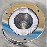Optronics Inc. Tail Light Round Clear Lens w/ trim
