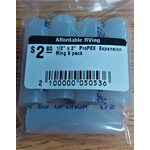 """1/2"""" x 2""""  ProPEX  Expansion Ring 5 pack"""