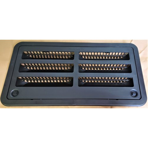 """Dometic Refrigerator Vent Assembly 20"""" Black Dometic"""