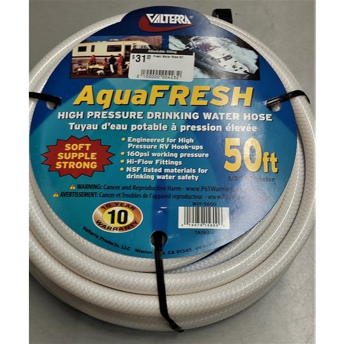 Fresh Water Hose 50'
