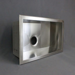 Sink Single Basin 25 x 15 Stainless