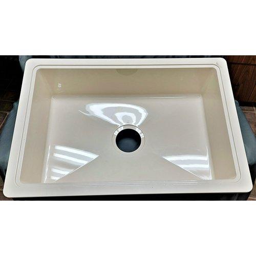 Lippert Components Sink Single Basin 25 x 17 Parchment