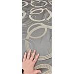 Bedspread Queen Gray Silver