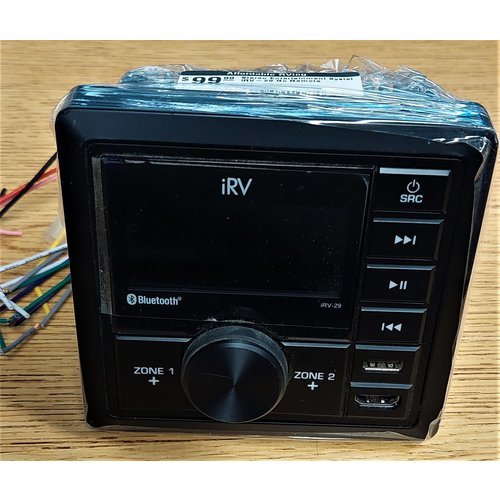 IRV Technologies Stereo Entertainment Systel iRV-29 No Remote