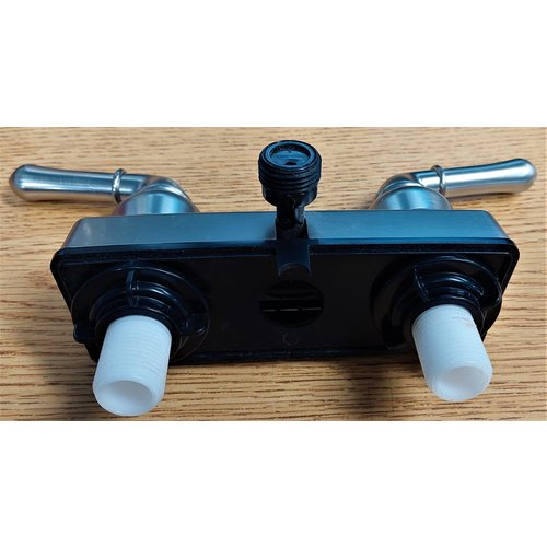 Home Plus Faucet Satin Nickel Shower Valve W/Vacuum Breaker