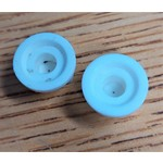 Spraying Systems Nozzle Tip Sprayer White 2 Pack